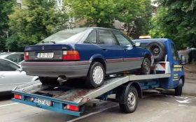 Legea a fost promulgata: Politia locala poate dispune ridicarea vehiculelor ce stationeaza pe domeniul public!