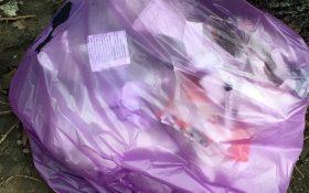 Primim De La Cititori: gunoiul de la un cabinet veterinar, aruncat direct trotuar, pe B-dul Obregia