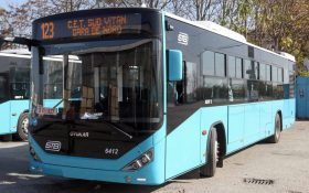 Primele 20 de autobuze noi pentru STB intra pe trasee