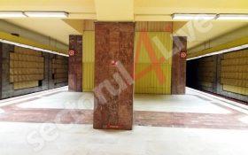 Defectiune tehnica la metrou, azi-dimineata. Un tren a fost retras din circulatie la statia Tineretului